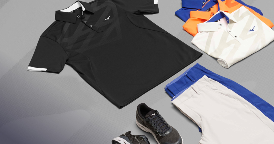 Spring Summer collection from Mizuno Golf