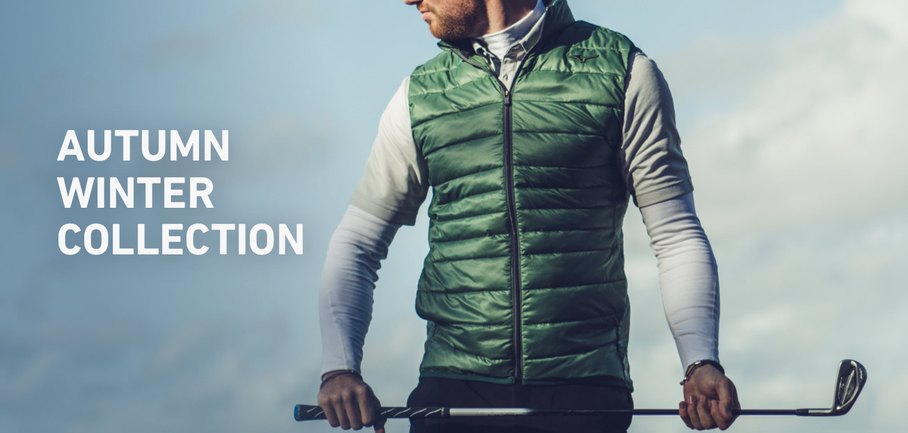 Autumn Winter collection from Mizuno Golf