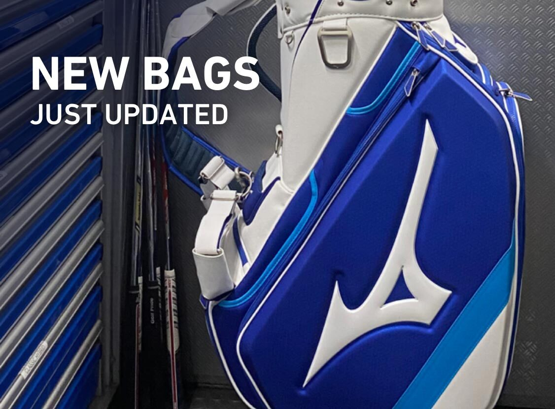 New Bags, Just updated from Mizuno Golf
