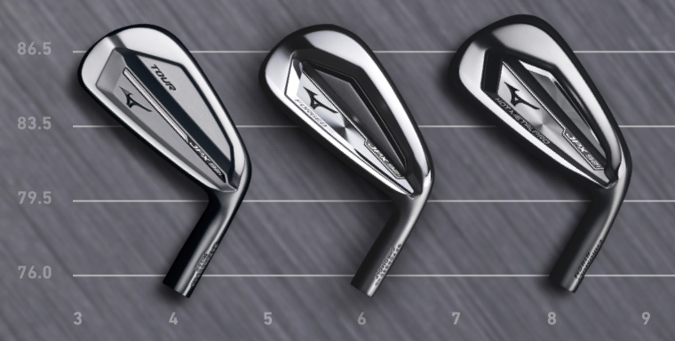 Irons comparison table