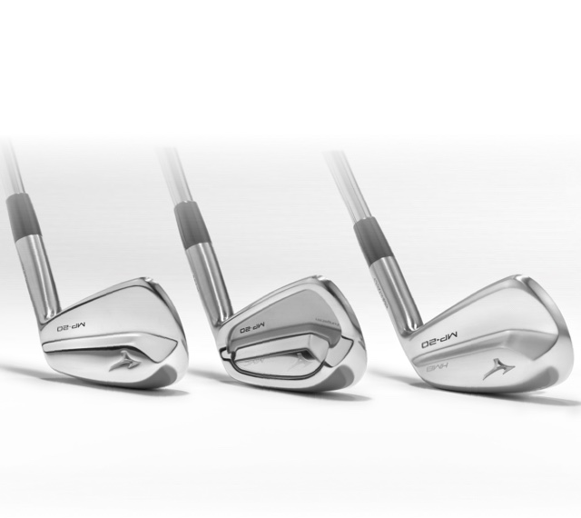 The Mizuno MP20 Irons Range