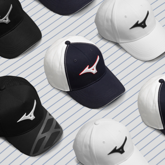 Headwear from Mizuno Golf