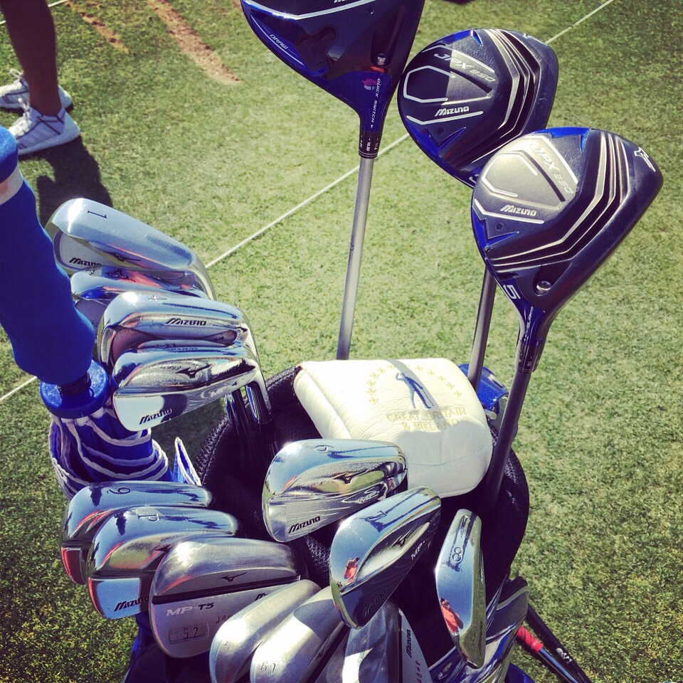 Chris Wood Back From Injury With New Mizuno Deal Mizuno Golf Europe