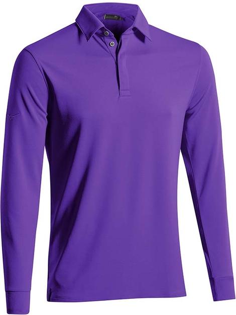 Breath Thermo Long Sleeve Polo Shirt